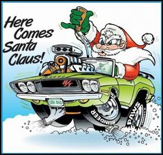 Pin By Mark Clampet On Cars Amp Racing Mopar Automotive Art Cool Car Drawings, Cartoon Drawings, Cartoon Art, Car Photos, Car Pictures, Funny Pictures, F1 Posters, Ed Roth Art, Christmas Car