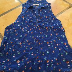 Sleeveless cute summer shirt Has collar, sleeveless hollister shirt Hollister Other