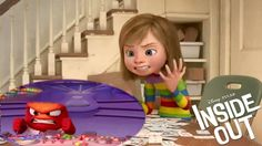 INSIDE OUT - Get to know your emotions: Anger size of problem Anna Disney, Disney Magic, Disney Pixar, Inside Out Videos, Elementary Counseling, School Counseling, Pixar Animated Movies, Coping Skills, Life Skills