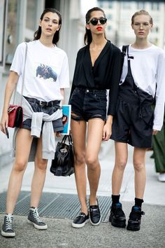 e5749047832 Models Off Duty  NYFW SS17 Friends Fashion