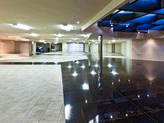 Showcase Garage: Contemporary Desert Mansion in California