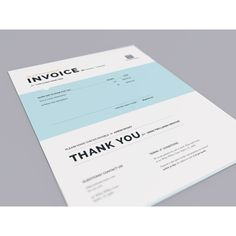 Such A Cute Invoice Template! FREE Psd About To Make A