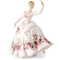 Royal Doulton Figurine, Shirley HN2702  Not my pattern but I have this lovely lady.