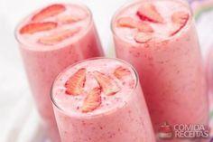 Receita de Milkshake de morango em receitas de sorvetes, veja essa e outras receitas aqui!