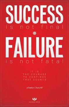 #Success is not final.. Failure is not fatal..