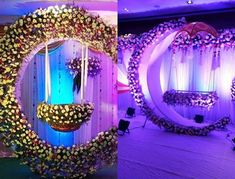 Make your baby's special day extra special by choosing a naming ceremony decoration that's not only cute but also beautiful. Here's a list of cradle ceremony ideas that you should definitely consider. Wedding Reception Backdrop, Wedding Stage Decorations, Balloon Decorations, Birthday Decorations, Baby Shower Decorations, Flower Decorations, Naming Ceremony Decoration, Marriage Decoration, Wedding Stage Design
