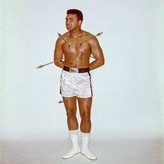 Muhammad Ali as St. Sebastian