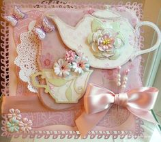 DipsDesigns: Mother's Day Afternoon Tea Card