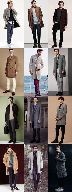 Men's Overcoat Outfit Inspiration Lookbook