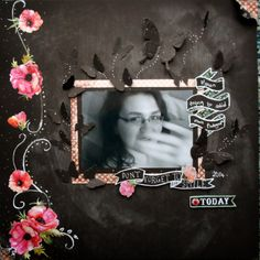 DT member SooJay's Layout for the March 2014 Scrapology Challenge. Please see blog for details.