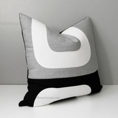 Decorative Pillow Cover, Granite Grey & White Outdoor Pillow Cover, Black Mid Century Modern Pillow Case, Sunbrella Cushion Cover, Mazizmuse Modern Pillow Cases, Modern Decorative Pillows, Modern Throw Pillows, Decorative Pillow Covers, Sunbrella Pillows, Mid Century Modern Sofa, Mid Century Modern Furniture, Outdoor Pillow Covers