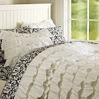 white ruffle duvet cover