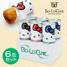 Hello Kitty can de Bologna 6 cans set Sanrio online shop - official mail order site