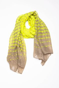 Cute and light spring scarf