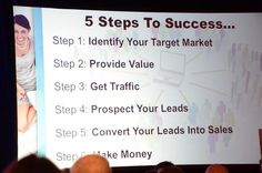 5 Steps To Success. Steps To Success, How To Make Money, Marketing