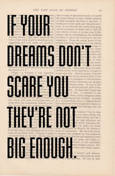 If Your Dreams Don't Scare You They're Not Big Enough #SocialMuse