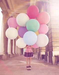 Girl with Balloons.