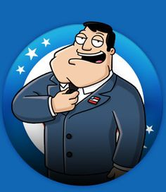 american dad is from the same creator of family guy, but i prefer this over that, their family values are just amazing hehe