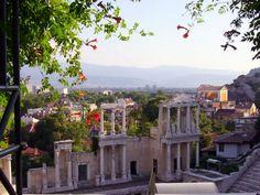 Plovdiv Bulgaria: Roman Amphitheater Plovdiv