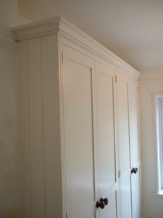 Floor To Ceiling WhitePainted  Wardrobe for Angie's Room