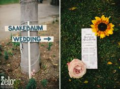 Zelo Photography - wedding details - wedding sign ideas