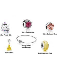 Pandora Disney Beauty And The Beast Bracelet France