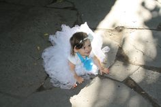 cute tutu and even cuter flower baby