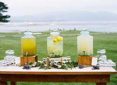 pebble beach wedding by lovely little details, photos by tanja lippert, featured on martha stewart weddings