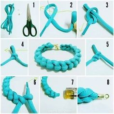 DIY Bracelet en noeud de lacet