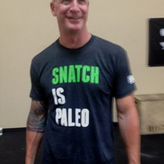 Very naughty, yet funny Crossfit shirt and very true!! LOL