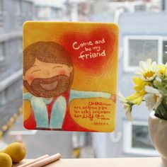 Mini Mouse Pad - Come and be my friend / Christian Bible Design Brand - theWord