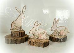 Happy Easter, Easter Bunny, Art Quilling, Diy Ostern, Wire Weaving, Wire Crafts, Vintage Easter, Wire Art, Diy Projects To Try