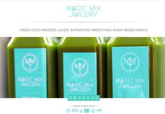 Magic Mix Juicery in NYC offers organic juices, smoothies, and food.