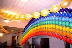 Bar Mitzvah and Bat Mitzvah Balloon Decorations