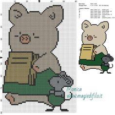 Scheme keresztszemes Zashikibuta a Taddy 60x90 6 colori.jpg (2,5 MB) Megtekintve 146 alkalommal