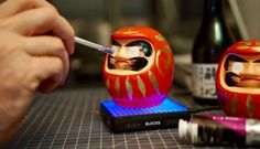 Keeping One Eye Open: Daruma and the Art of the Japanese Wish