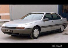 Renault Safrane prototype dated 1987 Matra, Automobile, 1990s Cars, Motor Works, Pre Production, Concorde, Car Brands, Automotive Design, Rolls Royce