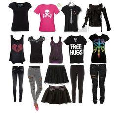I like a couple of these shirts. I like all the pants. I don't like the skirts though. Lol