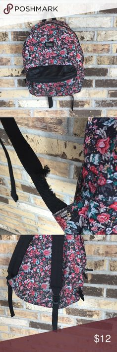 Vans flower backpack Vans floral backpack (straps are broken) Vans Bags Backpacks