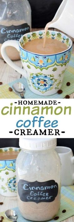Some Coffee Help? We've Got All You Need To Know Homemade Cinnamon Coffee Creamer: so easy to make and you only need a couple of ingredients!Homemade Cinnamon Coffee Creamer: so easy to make and you only need a couple of ingredients! I Love Coffee, My Coffee, Coffee Drinks, Beverage Drink, Coffee Barista, Coffee Coffee, Coffee Maker, Homemade Coffee Creamer, Coffee Creamer Recipe