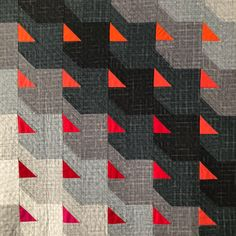 """Carolina Oneto shares her """"why"""" with Kim Soper as part of this week's installment of The Creativity Project. Carolina Oneto The Creativity Project Week Leland Ave Studios Kim Smith Soper Modern Quilt Patterns, Quilt Patterns Free, Quilting Projects, Quilting Designs, Quilting Ideas, Patchwork Designs, Neutral Quilt, Black And White Quilts, Quilt Modernen"""