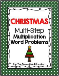 This product features twelve Multi-Step Division Word Problems that are suitable for students in grades 4 to 6. Two options are provided for printing the worksheets. You can print two school-themed word problems per page with enough space under each question for students to solve the problems OR you can print six word problems per page and have the students show their work in their own notebooks.
