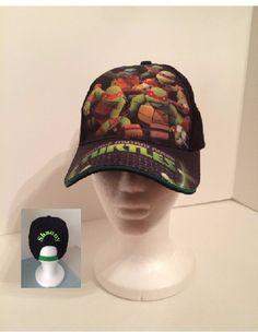 TMNT Teenage Mutant Ninja Turtles Boy's Baseball Hat - Personalized by CACBaskets on Etsy