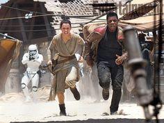 Star Wars 7 dans Entertainment Weekly avec John Boyega et Daisy Ridley