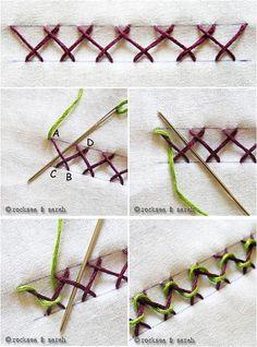 Bordado passo a passo: Pap de bordados