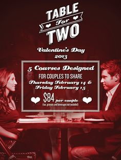valentine day restaurant specials denver co
