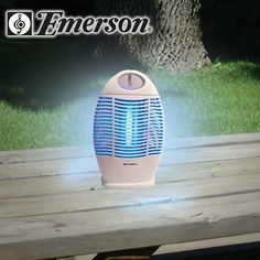 Emerson Indoor/Outdoor Cordless Rechargeable Bug Zapper At  Http://suliaszone.com