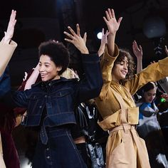 "@StellaMcCartney paid tribute to George Michael who passed away in December by closing her fall/winter 2017 show with models dancing to a remixed version of ""Faith."" The equestrian-themed collection celebrated the designers's British heritage with references that drew from the Queen's Balmoral attire to the paintings by the 18th-century artist George Stubbs. Photos by @MollySJLowe.  via NY TIMES STYLE MAGAZINE OFFICIAL INSTAGRAM - Celebrity  Fashion  Haute Couture  Advertising  Culture…"