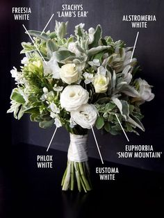 white and green wedding flowers bridal flowers - Page 2 of 100 - Wedding Flowers & Bouquet Ideas Green Wedding, Floral Wedding, Our Wedding, Green And White Wedding Flowers, Deco Floral, Arte Floral, Floral Design, Bride Bouquets, Floral Bouquets