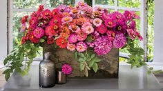 Bring on the Zinnias | Southern Living | The easiest flowers to grow from seed are tailor-made for cutting.